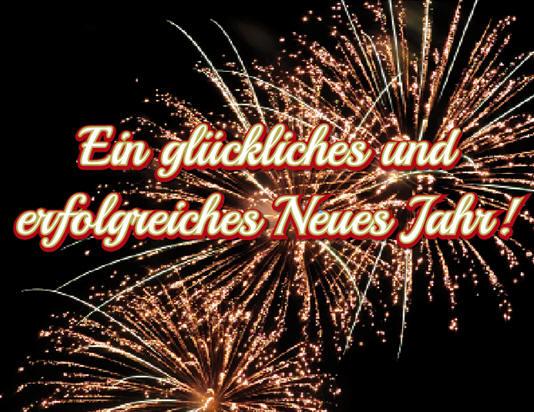 Frohes Neues Jahr! - Gute Zeit - Rüttenscheid IGR